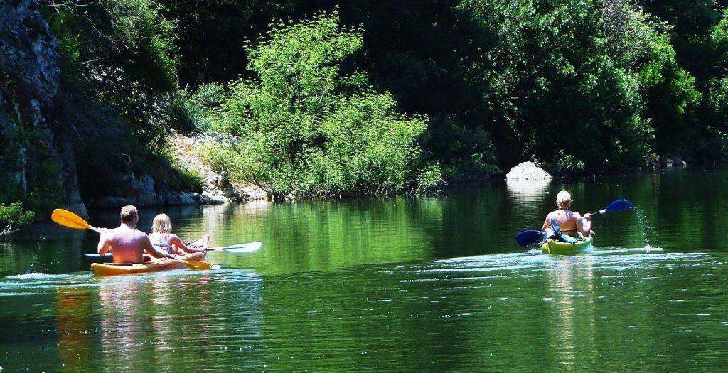 escursioni canoa lago fiume sardegna