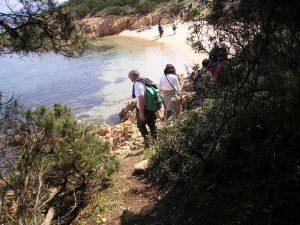 escursione trekking Liscia Ruja sardegna