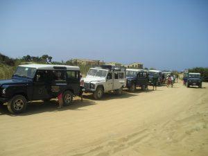escursione fuoristrada dune Piscinas sardegna