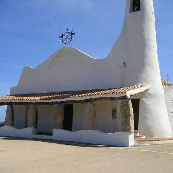 stella maris church costa smeralda sardinia