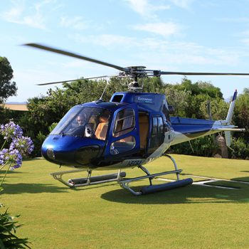 helicopter service baya sardinia