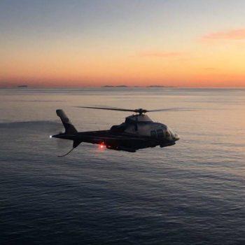 servizio elicottero la maddalena sardegna