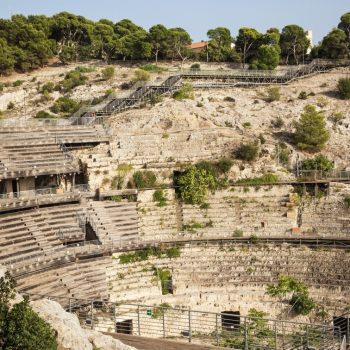 roman amphitheater cagliari sardinia