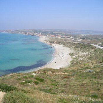 peninsula sinis panorama sardinia