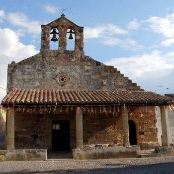 chiesa s. lorenzo centro storico sanluri sardegna