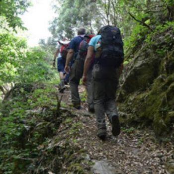 escursione trekking parco is cannoneris sardegna