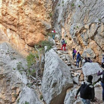trekking excursion tiscali sardinia