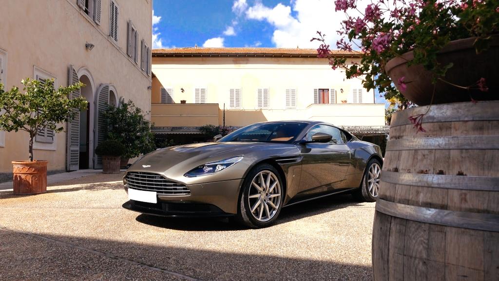 Aston Martin Sardinia