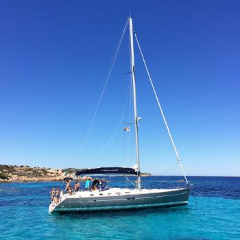 boats excursion spargi sardinia