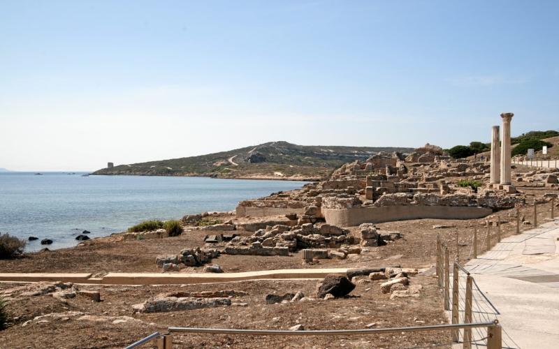 tharros ruins sardinia