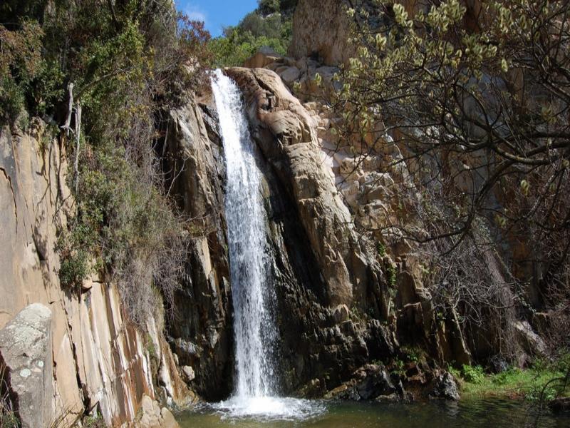 cascata parco 7 fratelli Sardegna