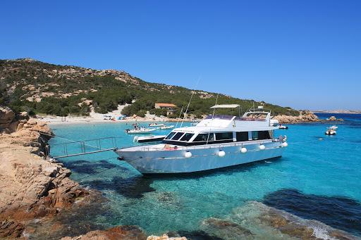 boat la maddalena islands sardinia