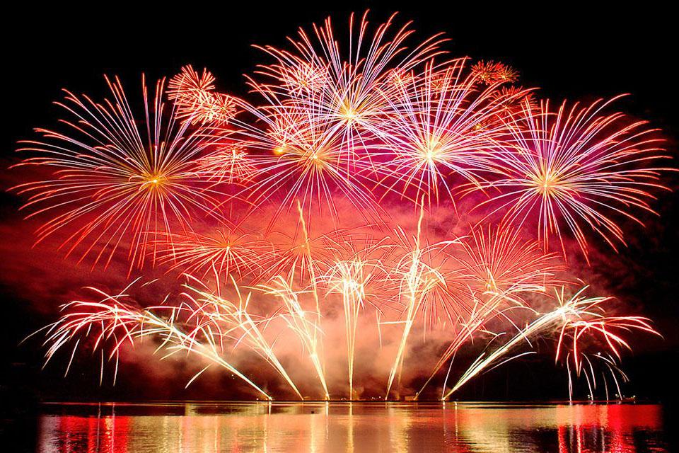 fuochi d' artificio