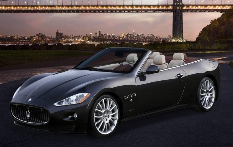 luxury car hire maserati