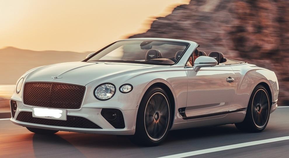 bentley luxury car sardinia