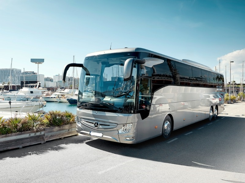 happy tour rental bus sardinia